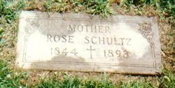 Rose <i>Schulz</i> Schultz