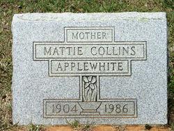 Martha Rose Mattie <i>Collins</i> Applewhite