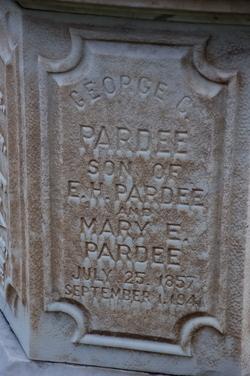 George Cooper Pardee