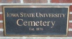 Iowa State University Cemetery