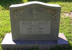 Mattie Mae Bipp <i>Sutton</i> Bailey