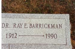 Dr Ray Ellsworth Barrickman