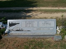 Willie Jane <i>Crockett</i> Cockrell
