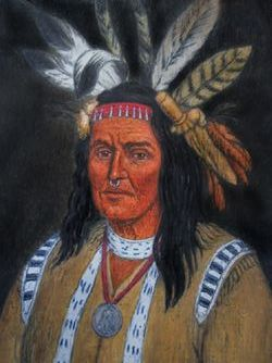 Chief Hokolewskwa Cornstalk