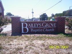 Baileys Grove Baptist Church Cemetery