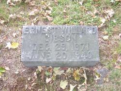 Ernest Willard Gibson, Sr