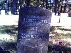 Corp Alonzo William Hovey