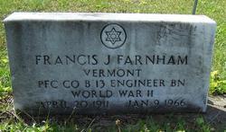 Francis J Farnham
