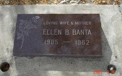 Ellen Beatrice <i>Halliday</i> Banta