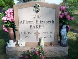 Allison Elizabeth Allie Baker