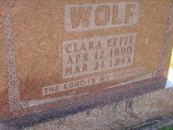 Clara Effie Wolf