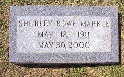 Shurley <i>Rowe</i> Markle