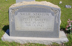 Sallie Banks <i>Stanton</i> Bailey