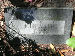 John A Lund