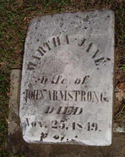 Martha Jane Armstrong