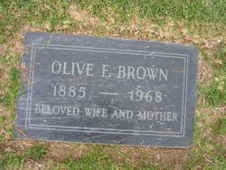 Olive A <i>Freeman</i> Brown