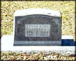 Exyah Lee <i>Bond</i> Hambrick