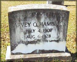 Harvey O'Neal Hambrick