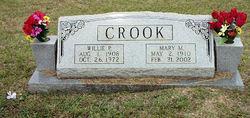 Willie P Crook