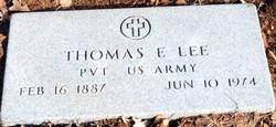 Thomas Ernest T.E. Lee