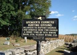 Spencer's Corners Cemetery