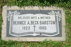 Bernice Anna <i>Beck</i> Barstow