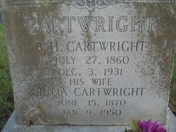 Julia <i>McDaniel</i> Cartwright
