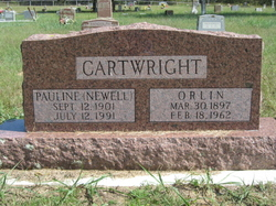 Pauline <i>Newell</i> Cartwright