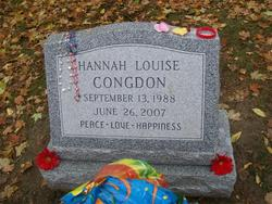 Hannah Louise Congdon