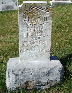 Allie N <i>Ritchie</i> Donovan
