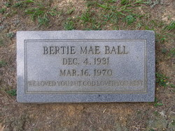 Bertie Mae Ball