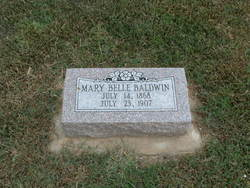 Mary Belle <i>Blagg</i> Baldwin