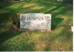 Beatrice Thelma BEE <i>Maron</i> Thompson