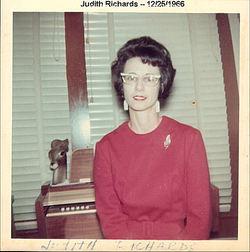 Judith Maxine Judy <i>Richards [Schock]</i> Gotschall
