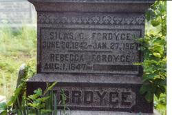 Rebecca A. <i>Wood</i> Fordyce