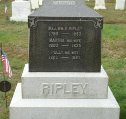 Martha <i>Parsons</i> Ripley