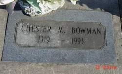 Chester M. Bowman