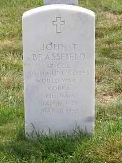 John T Brassfield