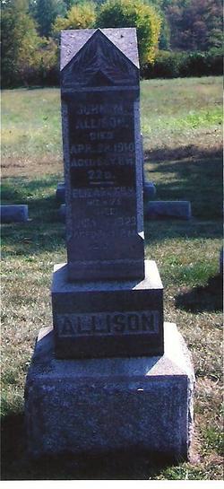 Elizabeth Mary <i>Wentz</i> Allison