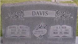 Leona <i>Miller</i> Davis