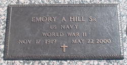 Sgt Emory Akers Hill, Sr