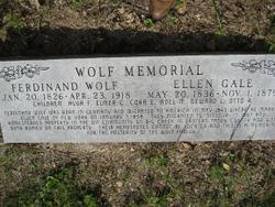 Ellen Elizabeth <i>Gale</i> Wolf
