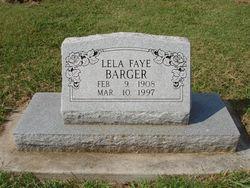 Lela Faye <i>Hogin</i> Barger