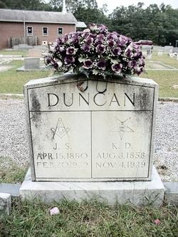 Kindness Drucilla <i>Edwards</i> Duncan