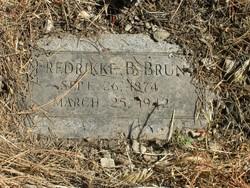 Fredrickka <i>Fredricksen</i> Brun