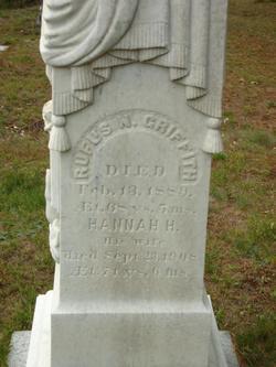 Hannah H <i>Tripp</i> Griffith