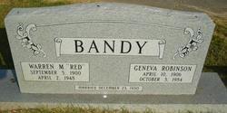 Geneva <i>Robinson</i> Bandy