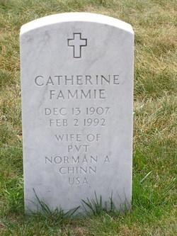 Catherine Fammie Chinn