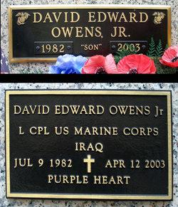 LCpl David Edward Owens, Jr