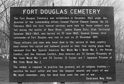 Fort Douglas Cemetery